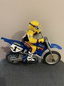 Tyco RC X-Treme Cycle Jeremy McGrath Yamaha Motorcycle Dirt Bike Parts Only 1999