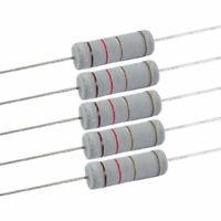 10 x 5W 700V 1.2 ohm Metal Oxide Film Resistors 5 Watt