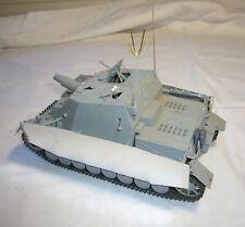 1:35 Sturmpanzer IV Brummbär mit Zimmerit, Befehlspanzer, gebaut, Ansehen!