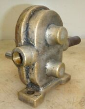"Brass Gear Water Pump for Car Truck Boat or Hit Miss Old Gas Engine 3/8"" Pipe"