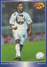 N°019 FRANCK SILVESTRE # FRANCE AJ.AUXERRE CARD CARTE PANINI FOOT 1995