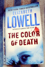 THE COLOR OF DEATH by ELIZABETH LOWELL 2005 PB