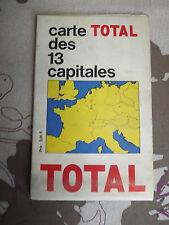 Carte Total des 13 capitales annees 70
