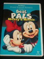 DVD Best Pals Mickey & Minnie Classis Cartoon Favorites Volume 10 Disney