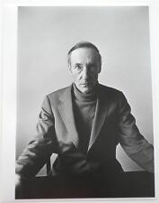"RARE Signed  Charles Gatewood  William Burroughs 1972  Photo Image  10.5"" x 7.5"""