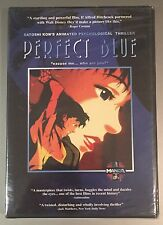 NEW Perfect Blue DVD - Rare OoP R1 Factory Sealed - Satoshi Kon Paranoia Agent
