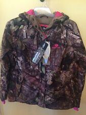 Women's Mossy Oak Hunting PARKA COAT Jacket Camo Pink Waterproof  Size S