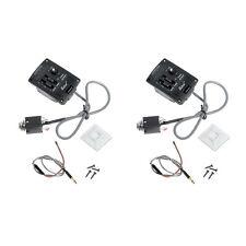2 Pcs Belcat Acoustic Sound 2 Band EQ Pickup W/ Chromatic LED Tuner UK-300T