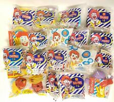 McDonald's Fisher Price & Lego UNDER 3 TOYS lot of 18. 10 are Little People toys