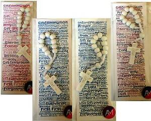 Bookmark & Single Decade Rosary Girls Boys Communion Confirmation Keepsake Gift