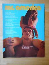 Mr AMERICA bodybuilding muscle magazine/ARNOLD SCHWARZENEGGER 3-71