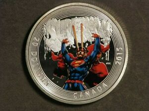 CANADA 2015 $20 Colorized Superman 1 Ounce Silver Proof