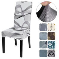 Spandex Stretch Wedding Banquet Chair  Cover Party Decor Dining Room Seat Cover@