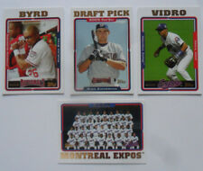2005 Topps Expos / Nationals Baseball Team Set w/ Update (30 Cards) ~ Zimmerman