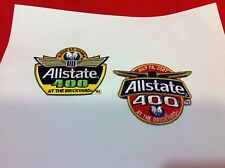 2007 & 2008 AllState 400 AT THE  BRICKYARD Event Collector Patches Indianapolis