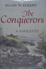 THE CONQUERORS - Allan W. Eckert  5th printing SIGNED