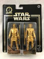 Star Wars Commemorative Edition Gold Obi-Wan Kenobi & Anakin Skywalker