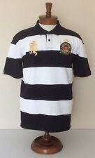 Amsterdam Nederland Polo Shirt Embroidered Crest Dragon Short Sleeve Mens 2XL
