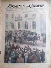 La Domenica del Corriere 14 Dicembre 1924 Morte Giacomo Puccini Satta Frattini