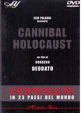 Cannibal Holocaust DVD Ezio Palaggi Ruggero Deodato