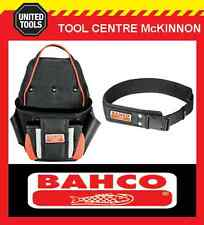 BAHCO 4750-2PP-1 2 POCKET FIXINGS TOOL POUCH WITH 4750-QRLB-1 QUICK RELEASE BELT