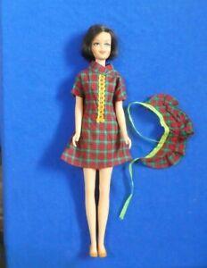 Vintage Barbie Francie  Doll - MOD Era 1180 Brunette TNT Casey Doll