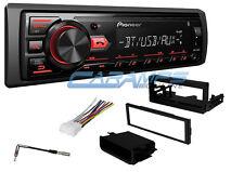 PIONEER BLUETOOTH CAR STEREO W/ DIGITAL MEDIA RADIO AUX/USB INPUT W/ INSTALL KIT