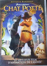 DVD du dessin animé LE CHAT POTTÉ - DreamWorks