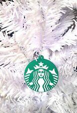 STARBUCKS COFFEE CHRISTMAS ORNAMENT, MERMAID LOGO, UNIQUE STOCKING STUFFER