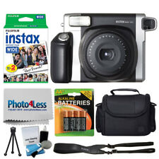Fujifilm INSTAX Wide 300 Instant Film Camera + 20 Exposures + Case + Batteries