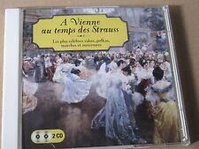 A VIENNE AU TEMPS DES STRAUSS VALTZES POLKAS CLASSICA 2 CD SET EMPEROR DANUBE ..