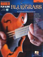 Mandoline mandolin Play-Along #1 - bluegrass cancionero notas tab m. código de descarga