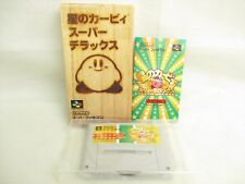 Star Kirby Super Deluxe Réf / 2305 Super Famicom Nintendo Sf