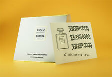 Chanel COCO MADEMOISELLE INTENSE EDP Spray Perfume Sample Vial & LE Stickers