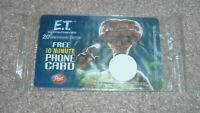 E.T. The Extra Terrestrial 20th Anniversary 10 Min Phone Card Sealed POST CEREAL