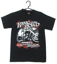 Harley Davidson Genuine Mens Black King Of The Road Short Sleeve Tshirt T Shirt