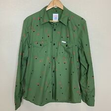 Topo Designs Long Sleeve Shirt Button Up Size Large L ***FLAW*** Casual
