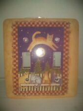 Cat Jumps Over The Moon Double Light Switch Plate Cover Sarah Whitman Quotation