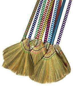 Asian Vietnam Thai Broom Sweep Natural Handmade Straw Dry Grass US SELLER NEW