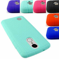 FOR LG PHONE MODELS ARISTO MS210 SOFT SILICONE COVER RUBBER GEL SKIN CASE+STYLUS
