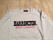 Felpa HARRINGTON East London - Anni 90 - Grigio chiaro - Tg: L - Buone Condizion