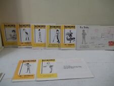 VINTAGE LOT OF 8 Core Driller George Failing Supply Pin Up Girls Mailing 1955-68