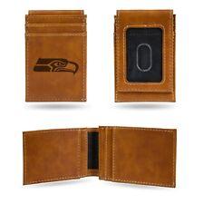 Redbrick da uomo 2 in 1 wallet vera pelle nero slim Clip Magnetica Soldi