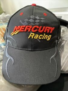 Mercury Racing Performance Marine Engine's Cap Black