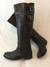Next Black Knee High Leather Boots Size 3