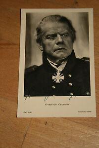 Friedrich Kayssler , ca 9x14cm ,Ross  6271/1 (#A15)