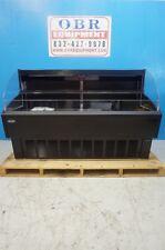New Nor Lake 72 Nova Black Air Curtain Merchandiser Model Nlhoam72 B