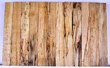 Pen Blanks WORMY SPALTED BIRDSEYE MAPLE Turning Craft Wood 3/4 x 5