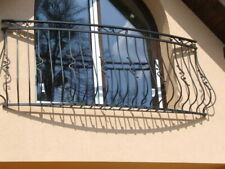 Balkongeländer Stahl feuerverzinkt pulverbeschichtet hohe Lebens