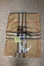 """Burberry 100% cashmere shawl 70"""" x 28"""" BNWT"""